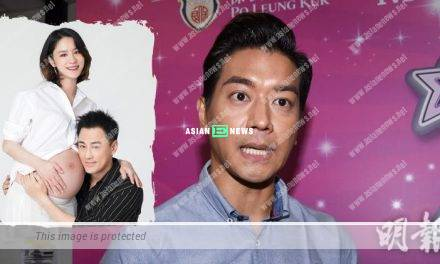 Raymond Lam announces he becomes a father; Chris Lai advises him to have sufficient sleep