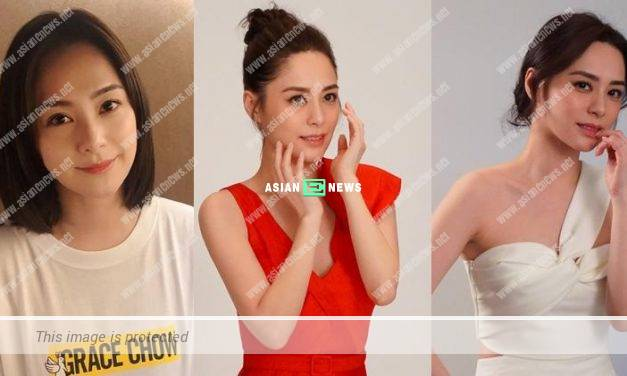 Gillian Chung continues as the spokesperson for a beauty company