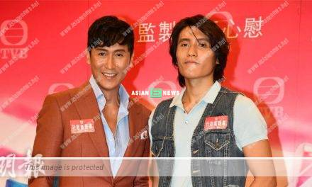 Joe Ma and his son Ma Xiang participate in TVB new drama