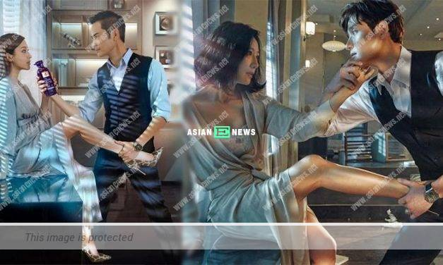 Kevin Cheng and Grace Chan re-enacted a classic scene in The World of the Married drama