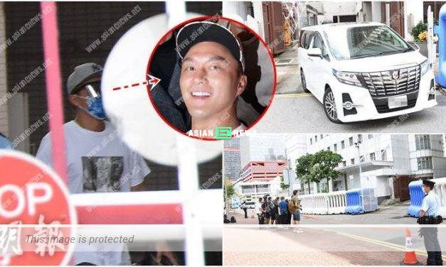 Matt Yeung reports to the police station for his drink driving case