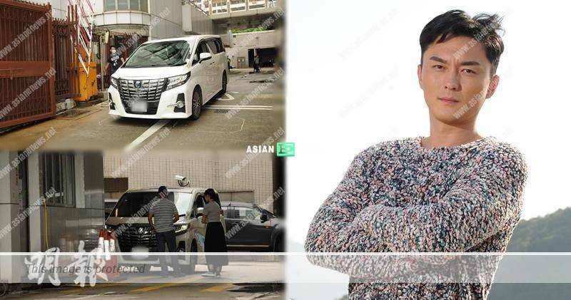 Matt Yeung parks his vehicle at the carpark to avoid the media