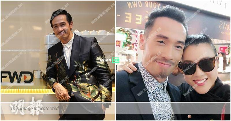 Expanding? Moses Chan sets up a cafe in the insurance company