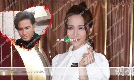 Getting old? Roxanne Tong treats Kenneth Ma as her marriage partner