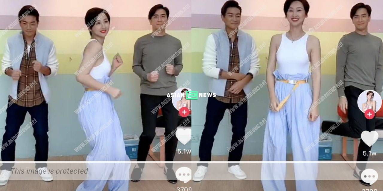 Kenneth Ma shows a confused expression when dancing