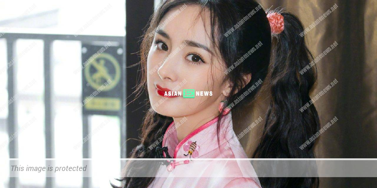 Yang Mi applies light makeup and resembles Angelababy?
