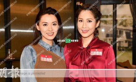 Alice Chan does not mind replacing Sharon Chan in Flying Tiger 3 drama