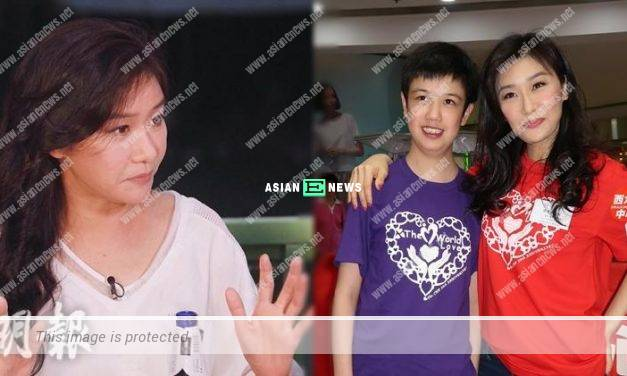 Angie Cheong treats her foster son Hanson as her true love