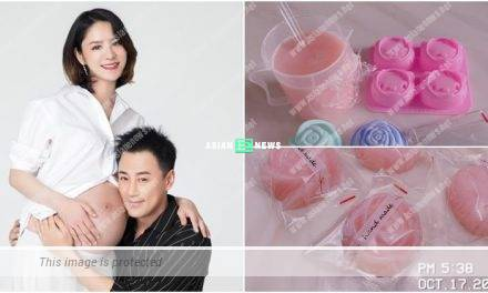 Raymond Lam's wife Carina Zhang makes breast milk soap