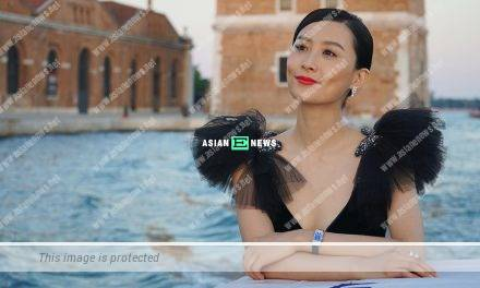 Shooting an advertisement? Fala Chen wears sexy outfit to do house chores