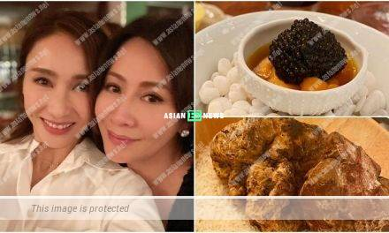 Gigi Lai and Carina Lau have a gathering