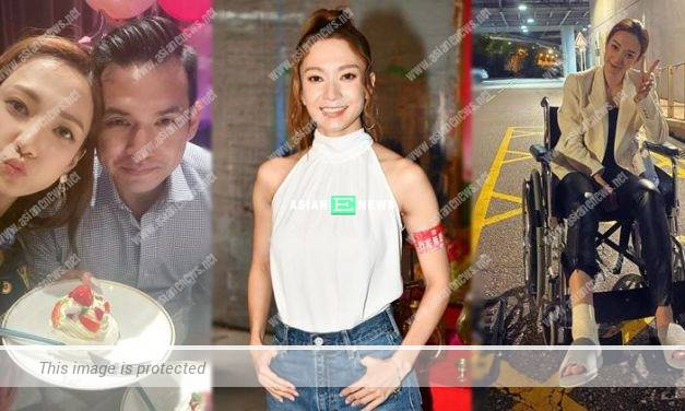 Grace Wong thanked her husband for doing house chores