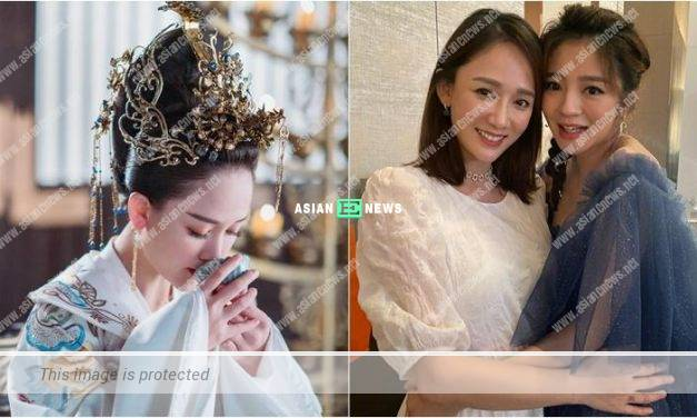 Joe Chen drinks tea and ignores the rumours of pregnancy