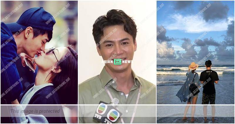 Him Law makes a love confession to his wife Tavia Yeung