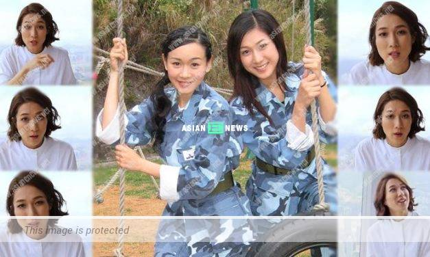 Linda Chung experiences a life and death encounter when filming The Biter Bitten drama