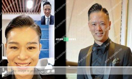 Missing her husband? Myolie Wu has the same hairstyle as Philip Lee