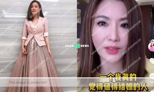 Furious Pinky Cheung lashes out at the netizens for calling her granny