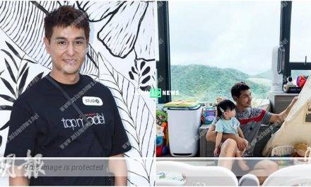 Ruco Chan changes to a fan without blades because of his daughter