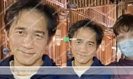 Getting old? 58-year-old Tony Leung appears haggard