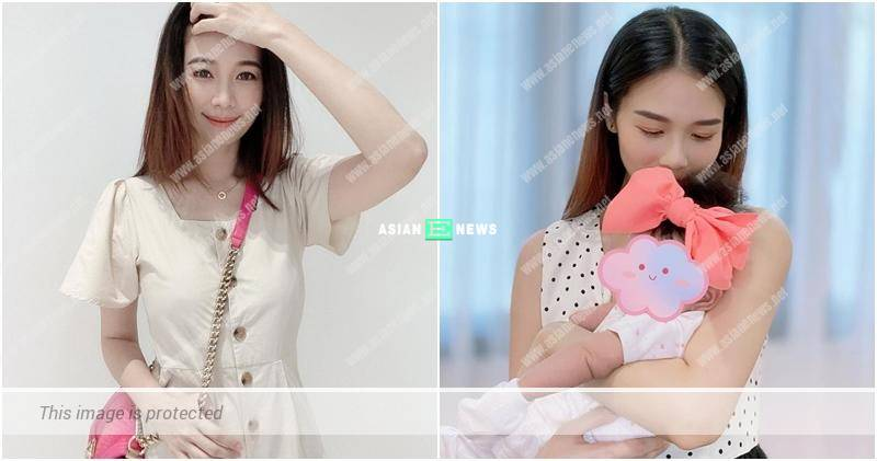 Vivien Yeo returns to Hong Kong with her daughter