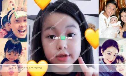 Yoyo Chen shows her daughter's appearance on social media