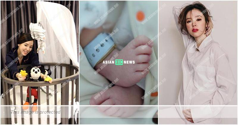 Congratulations to Zoie Tam giving birth to a baby girl
