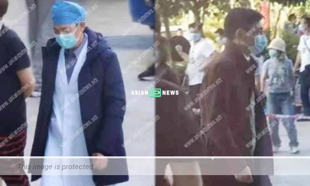 Andy Lau films a movie related to virus in Shenzhen