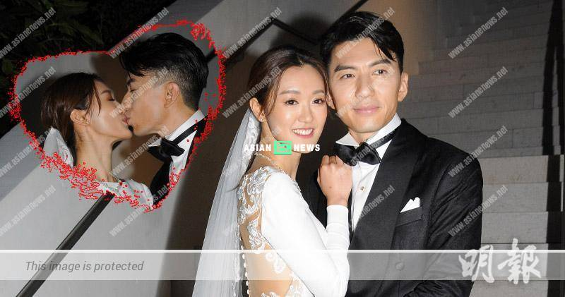 Congratulations! Benjamin Yuen and Bowie Cheung officially tied the knot