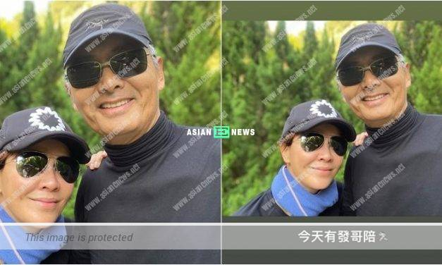 Netizens feel envy of Carina Lau going for hiking with Chow Yun Fat