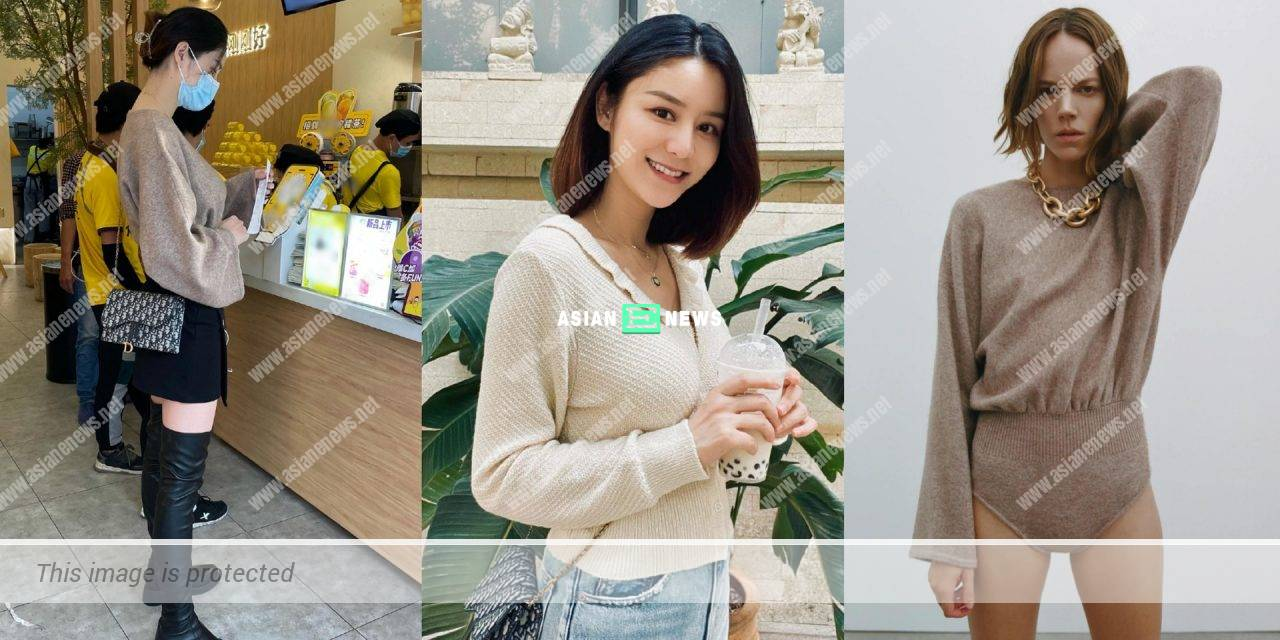 Raymond Lam's wife Carina Zhang's fashion sense is criticised by the netizens