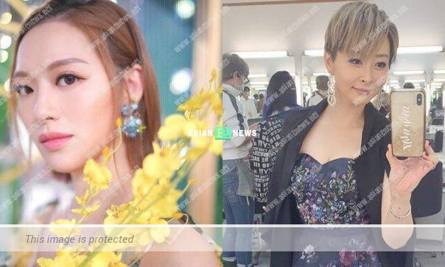 Ms Hong Kong Crystal Fung is mistaken as Angela Tong?