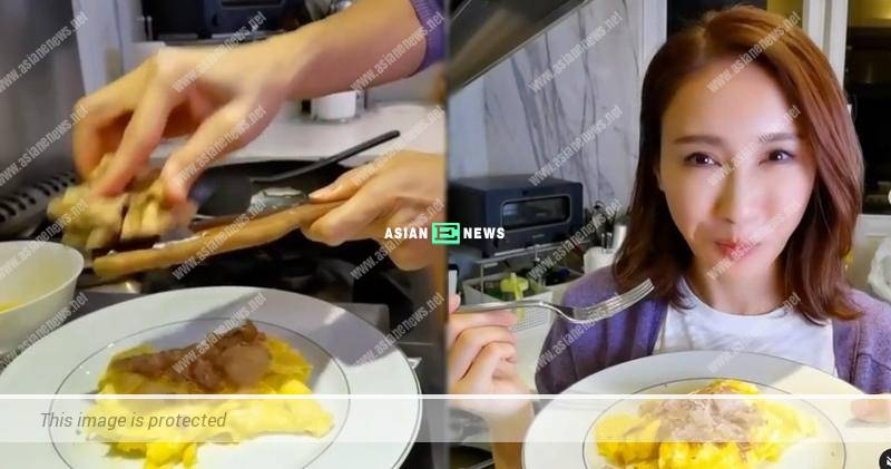 Gigi Lai cooks white truffles with scrambled eggs: We should root for ourselves