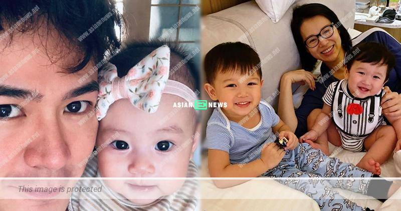 Him Law shows his cute daughter photo: You are the center of attraction
