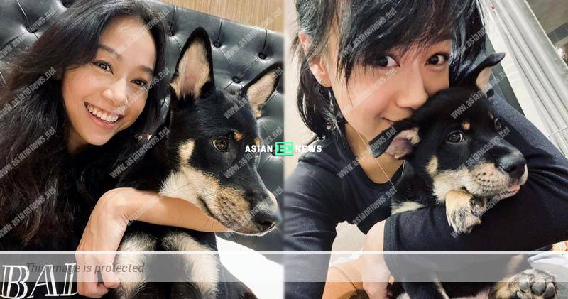 Jacqueline Wong shows her new photo after lying low for 4 months