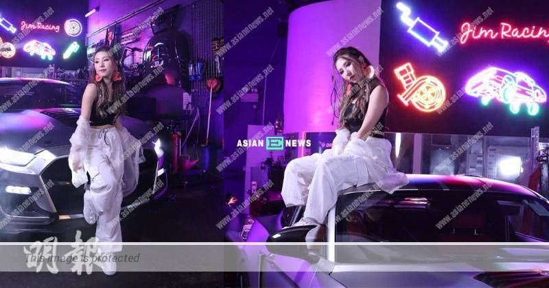 Kayee Tam shoots MV and challenges her dancing skills