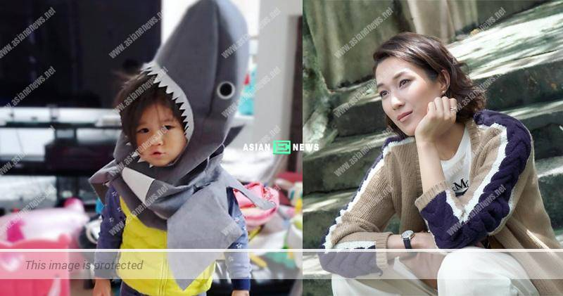 Linda Chung thanks her family for taking care of her children