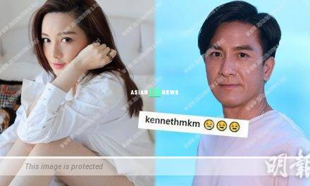 Roxanne Tong reveals her fair skin; Kenneth Ma shows 3 drooling emoji