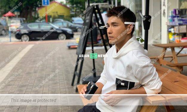 Ruco Chan spends time with his wife and announces a good news