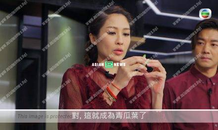 Happy Dinner Together Show: Sharon Chan fails to wear gloves during food handling
