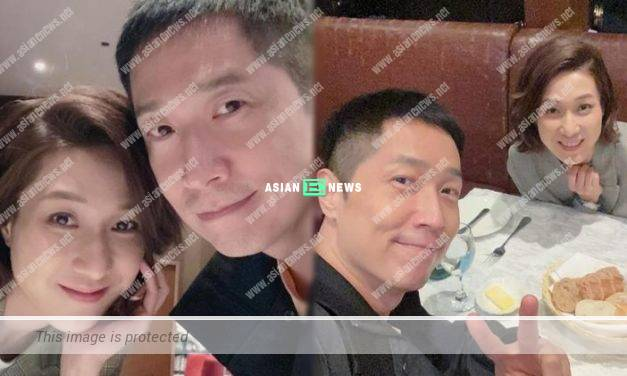 Linda Chung and Steven Ma finally have dinner together