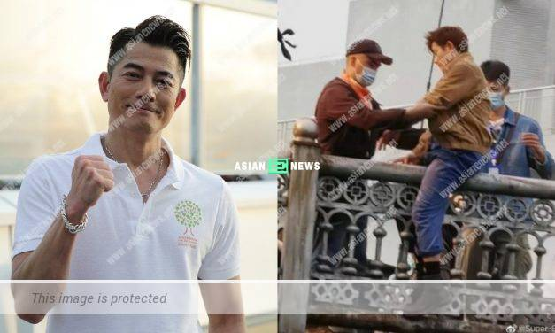 Professional Aaron Kwok films a dangerous movie personally