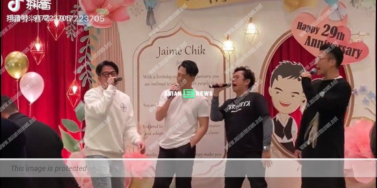 Raymond Lam and Ron Ng sing Alan Tam's classic song together