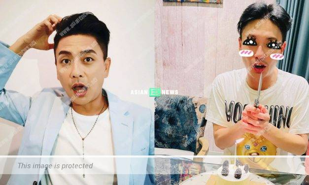 Bosco Wong looks old after turning 40 year old?