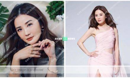 """Charlene Choi shows her sexy """"home look"""""""