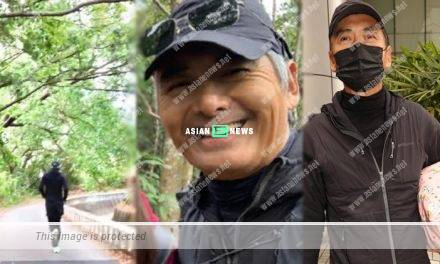Superstar Chow Yun Fat helps an injured granny