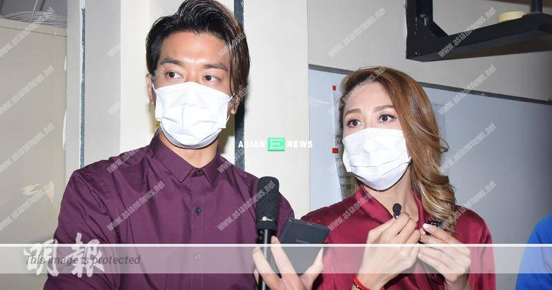 Chris Lai tries to talk lesser when not wearing face mask