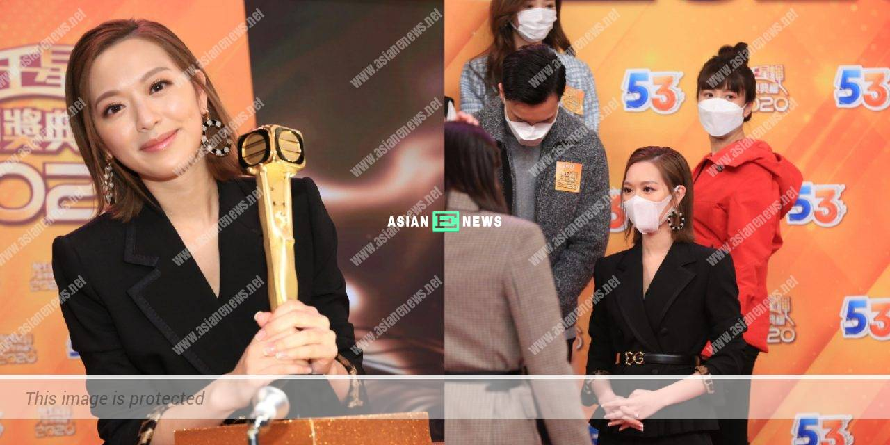 Treats Kong Ka Man invisible? Crystal Fung urges everyone to focus on her work