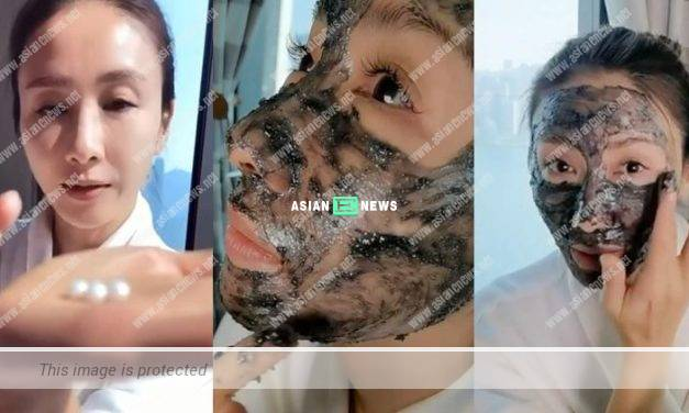 Gigi Lai emphasises the importance of applying facial masks