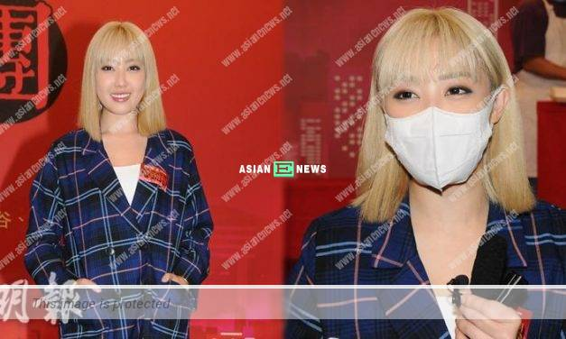 """Kirby Lam dismissed about """"frozen"""" by TVB: Perhaps there is no roles suitable for me"""