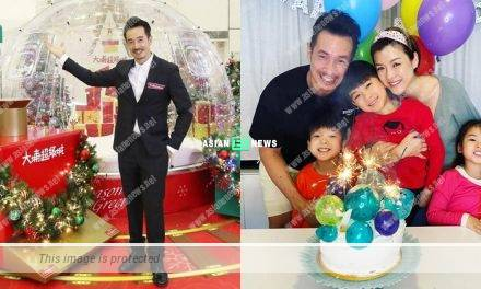 Moses Chan praises his wife Aimee Chan is good at roasting turkey